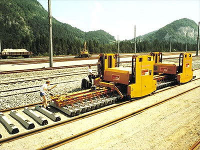 Machines for track laying - Track modification machines :: Trackopedia