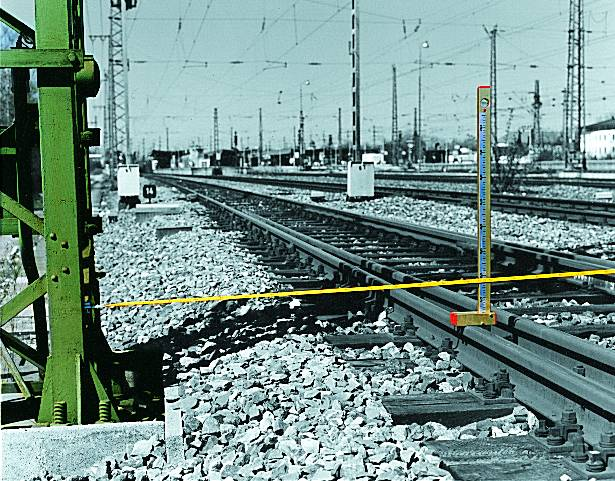 Track fixpoint measuring device
